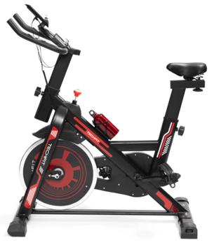 Bicicleta spinning TECHFIT SBK1500 este speciala pentru sportivii care doresc sa pedaleze de acasa, avand volanta de 15kg!